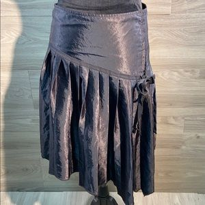 Max & Co pleated side corset style skirt